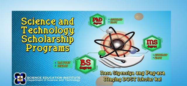 2014 DOST-SEI S&T Undergraduate Scholarships Application