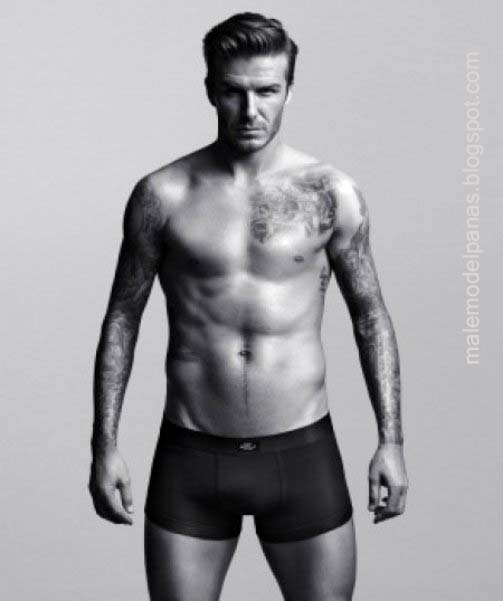 David Beckham body
