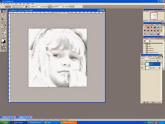 Foto editada y simplificada