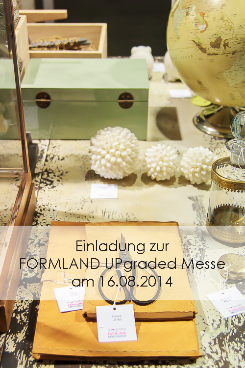 Amalie loves Denmark Einladung zur FORMLAND UPgraded Messe 2014