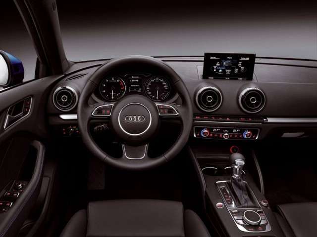 Audi A3 Sportback g-tron new 2014 interior
