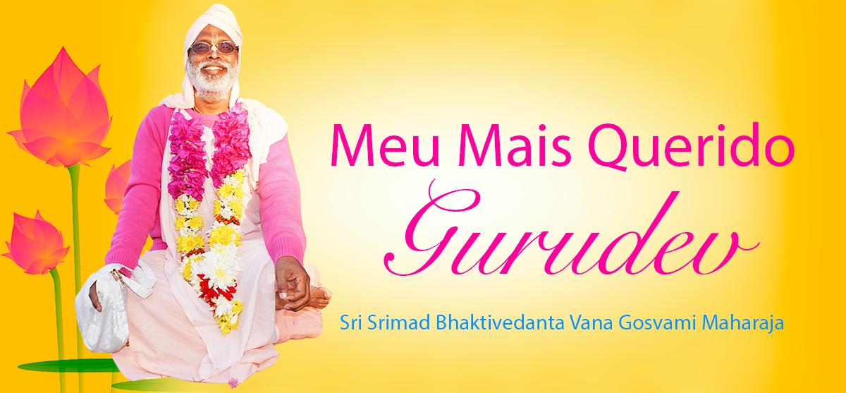 Meu Mais Querido Gurudev Srila BV Vana Gosvami Maharaja