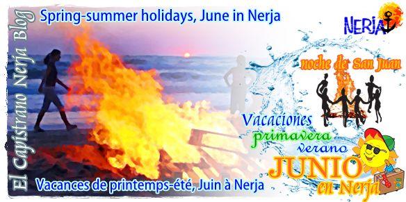 Celebre La Noche y Fiesta de San Juan en junio, alojandose en El Capistrano Nerja Málaga Costa del Sol