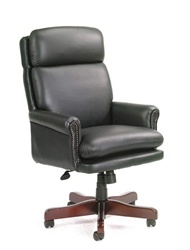 Traditional Leather Office Chair