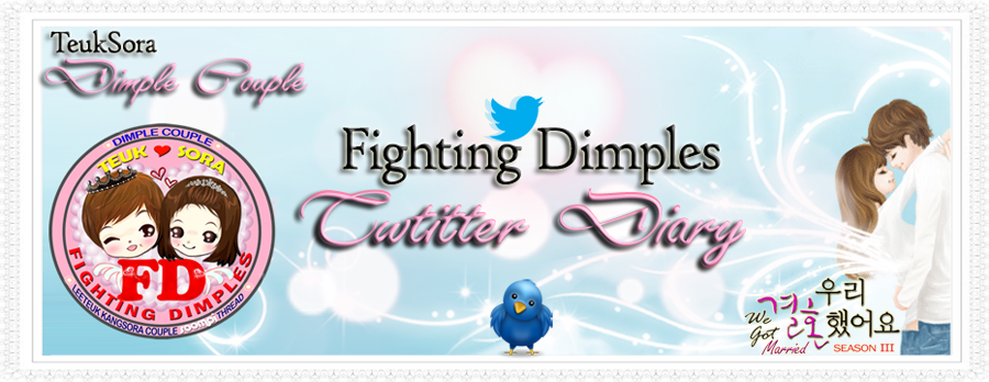 Fighting Dimples - Twitter Diary
