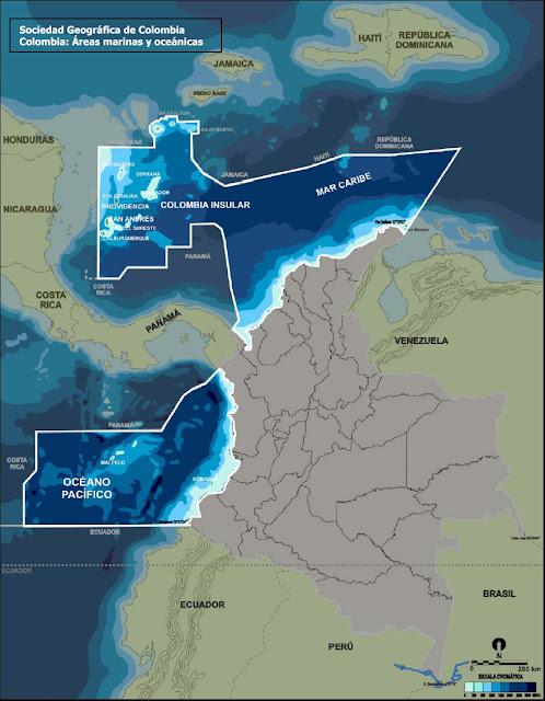 mapa satelital de colombia