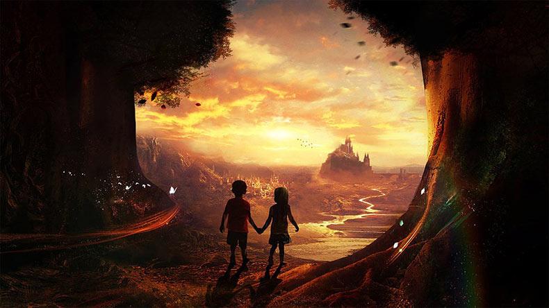 Artista croata de 17 años de edad crea fantásticos paisajes surrealistas inspirados por sus recuerdos de infancia