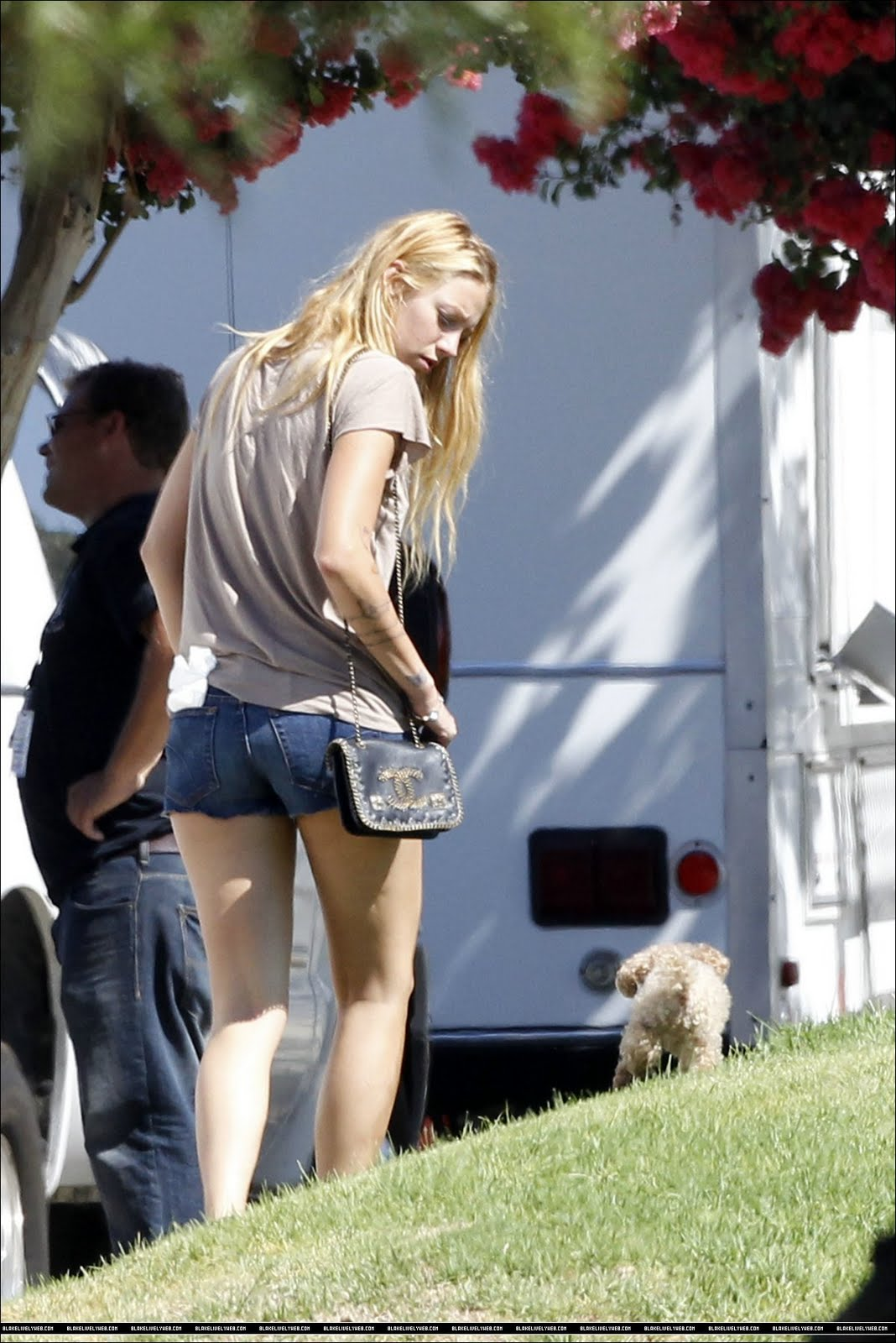 Blake And Her Adorable Dog Penny Were Spotted The Set New