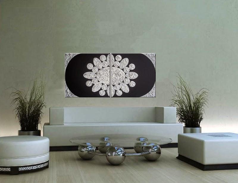 Venta Cuadros Modernos Cuadros Modernos Relieve En Blanco Con - Cuadros-en-relieve-modernos