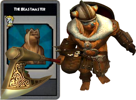 Pirate101 Best Grizzly Beast Pack Gear / Items - Bear Companion (Baar - Buccaneer)