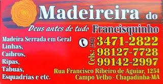 Madereira do Francisquinho