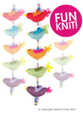 Something to brighten your day, a free knitting pattern taken from 30