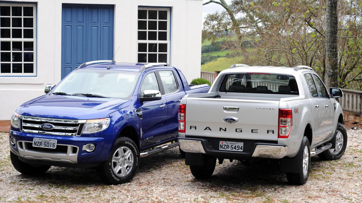 .900 Ford Ranger 2013 Limited 3.2 diesel automática cabine dupla 4x4