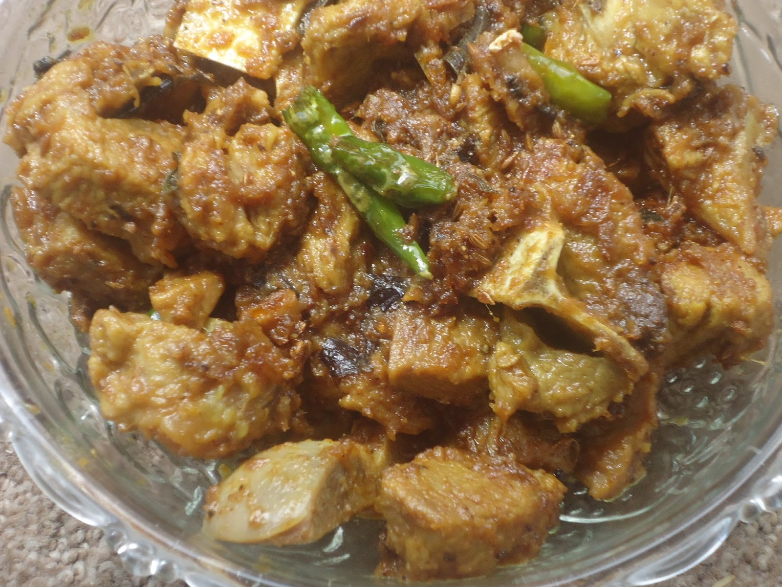 how to cook mutton fry