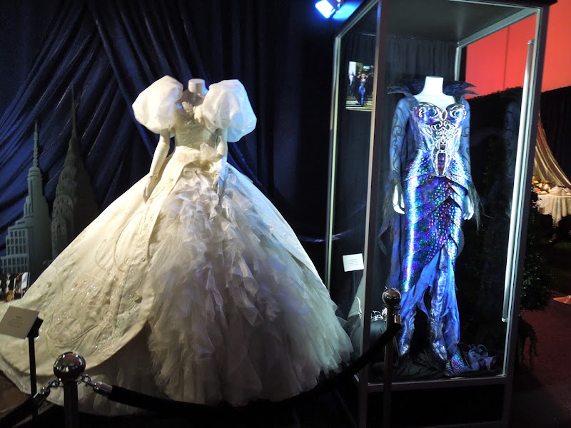 Disney Enchanted movie costume exhibit