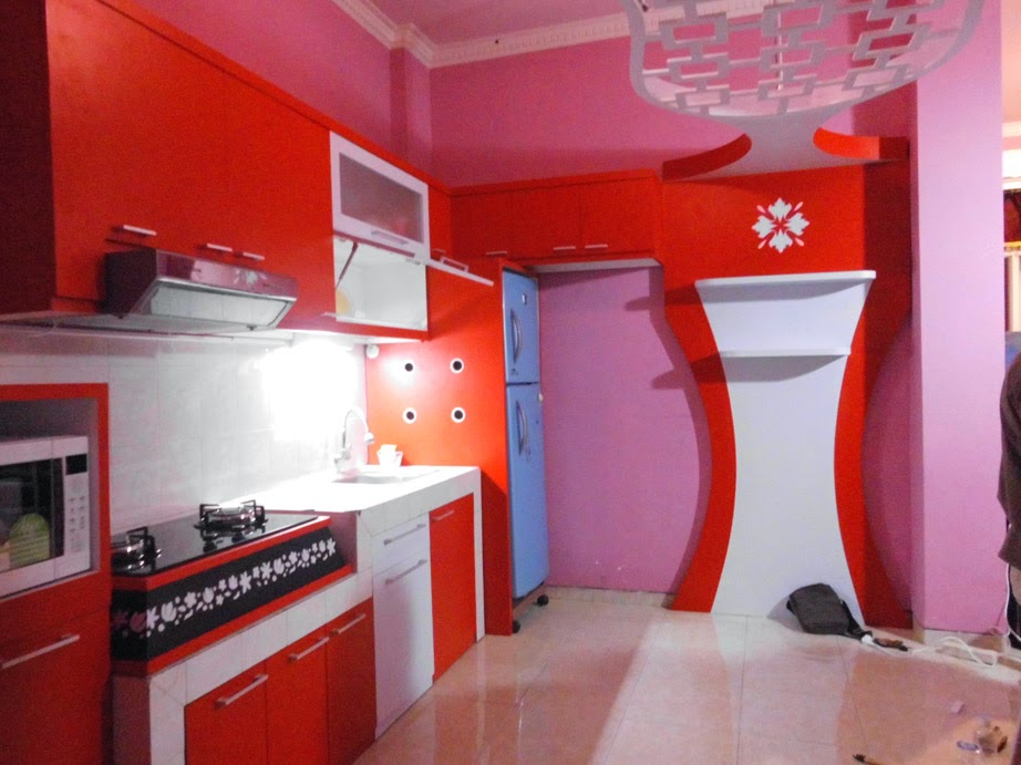 Trend Kitchen Set Desain 2015 2016 Custom Furniture Semarang