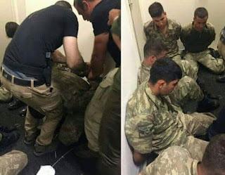 2,800 tentera Turki khianat ditangkap