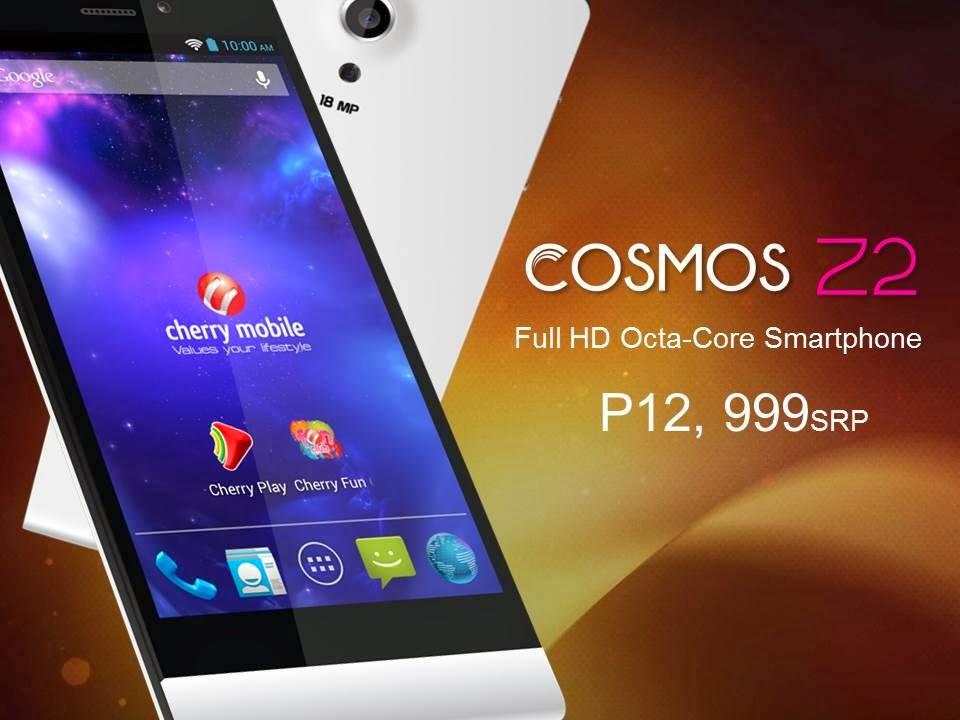 Cherry Mobile Cosmos Z2 - Octa-Core Smartphone