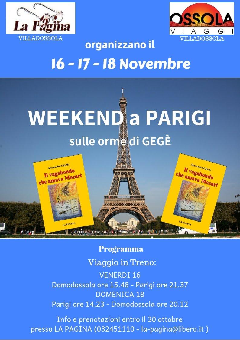 A Parigi con la Libreria La Pagina e OSSOLA Viaggi di Villadossola