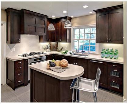 Dise o de cocina peque a con ideas y fotos construye hogar - Fotos de disenos de cocinas pequenas ...