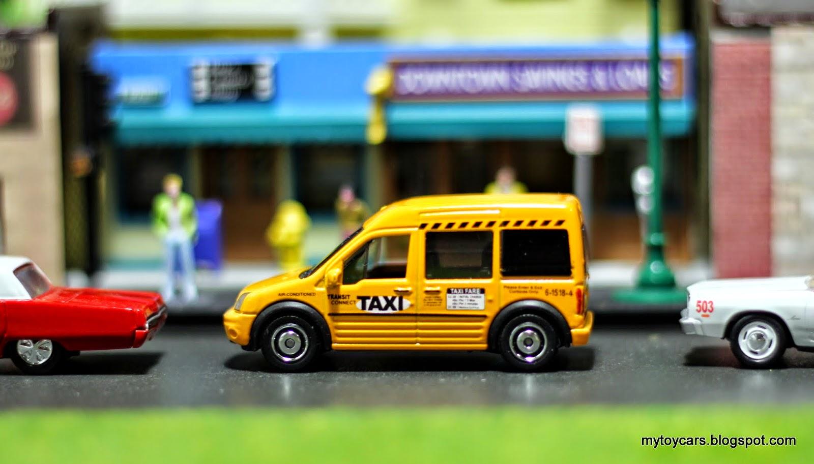 Mytoycars!: Matchbox and Johnny Lightning Taxis