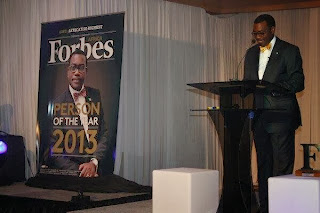 Forbes Appoints  Agric minister  Akinwumi Adesina emerge Forbes Africa's Person of the Year 2013