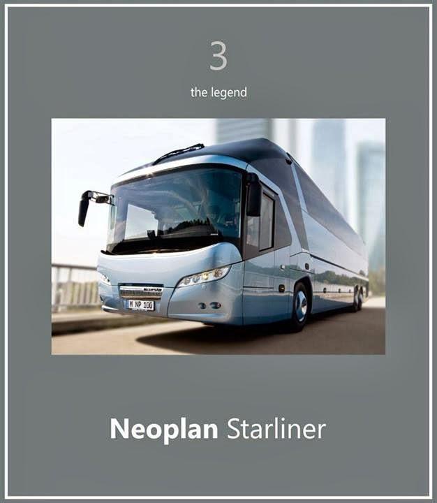 Neoplan starliner bus terbaik dunia