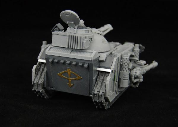 Warhammer 30k Sons of Horus  SOH+Predator+WIP+11