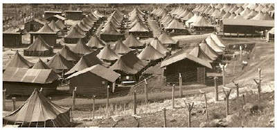 Picture of Japanese American internment camp