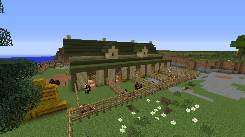 The world of raar spotlight horse stable for Building a horse stable
