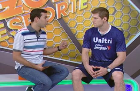 Audrei em entrevista ao Globo Esporte 171214