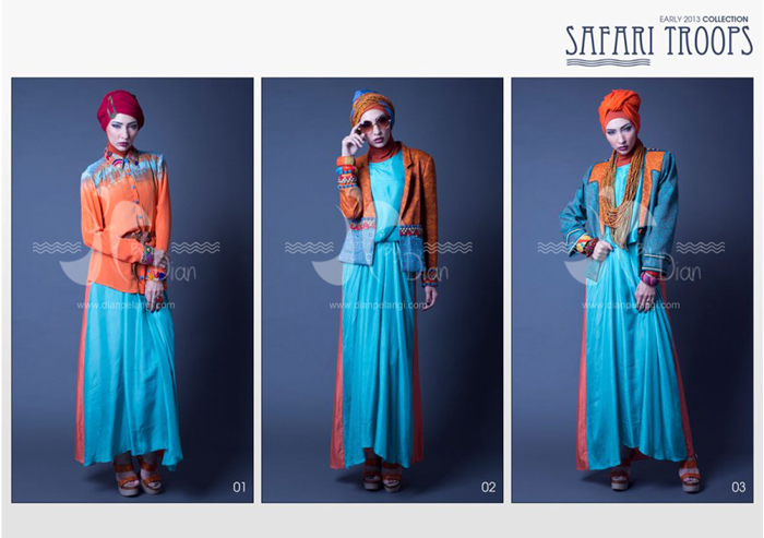 Dian Pelangi Safari Troops Collection