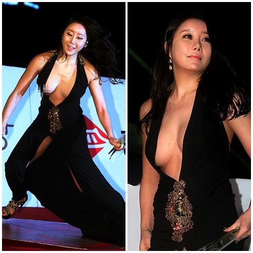 Ha Na Kyung Terjatuh di Karpet Merah