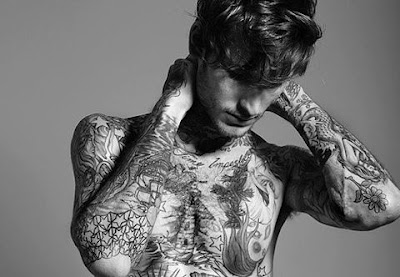 top+body+tattoo+model