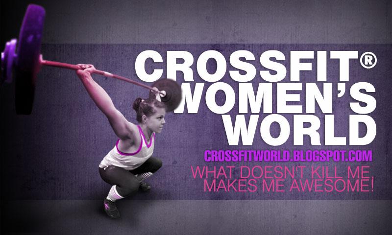 CROSSFIT WOMEN'S WORLD        world