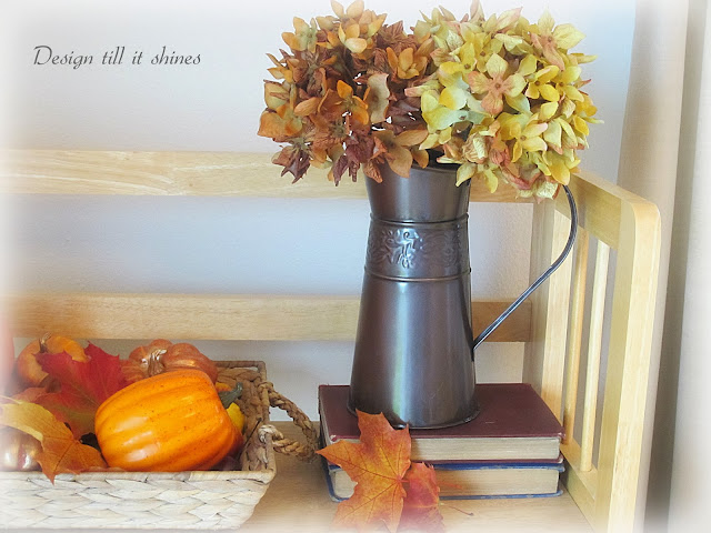 Frenchy Fall Vignette