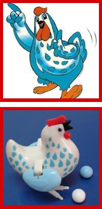 História da Galinha Azul, mascote dos Caldos Maggi, com sucesso notório desde os anos 80.