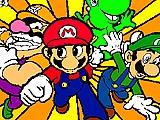 Mario,Luigi e seus Amigos