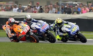 Jadwal Lengkap MotoGP Inggris 2015 - Free Practise Hingga Race