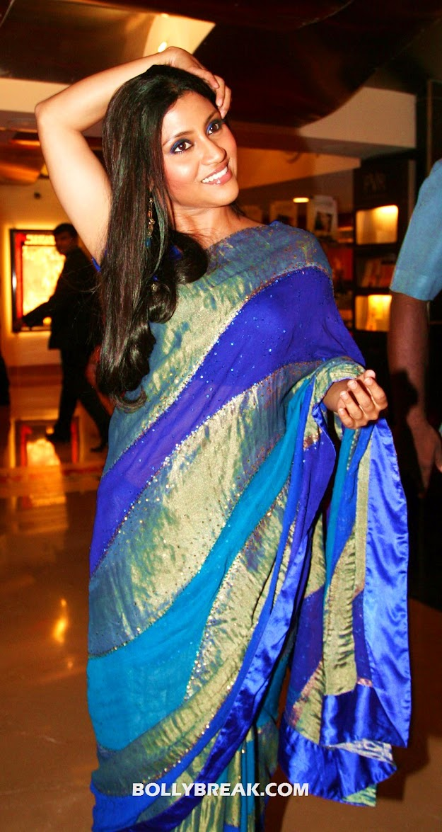 konkona sen sharma HD Saree - konkona sen sharma in Saree - HD Wallpaper