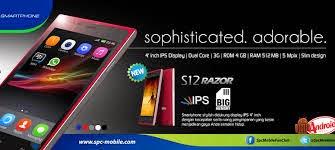 SPC Smartphone S12 Razor