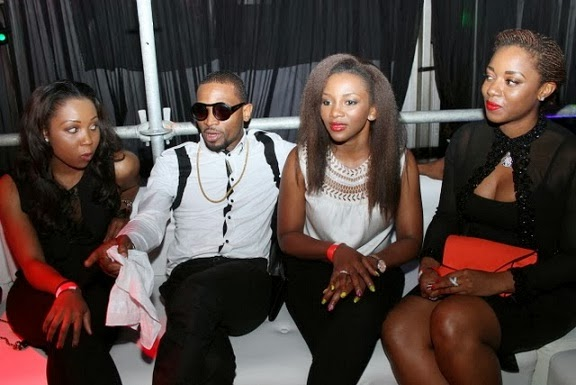 Dbanj & Genevieve Nnaji steps out in style