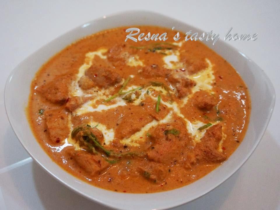 butter chicken/ murgh makhani