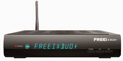 Atualizacao do receptor Freei X Duo + V3.41