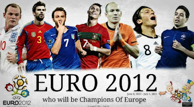 Jadwal siaran stasiun televisi-TV yang menyiarkan secara langsung pertandingan EURO 2012
