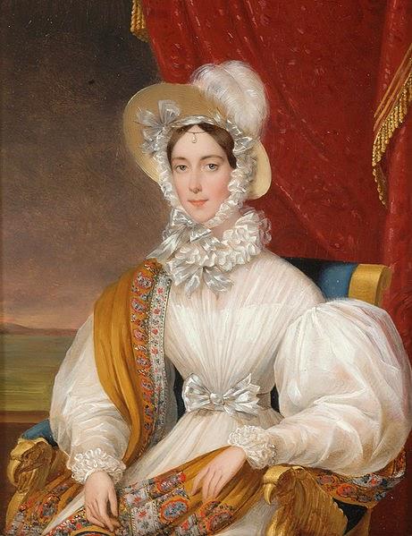 Empress Maria Anna of Austria by Johann Ender