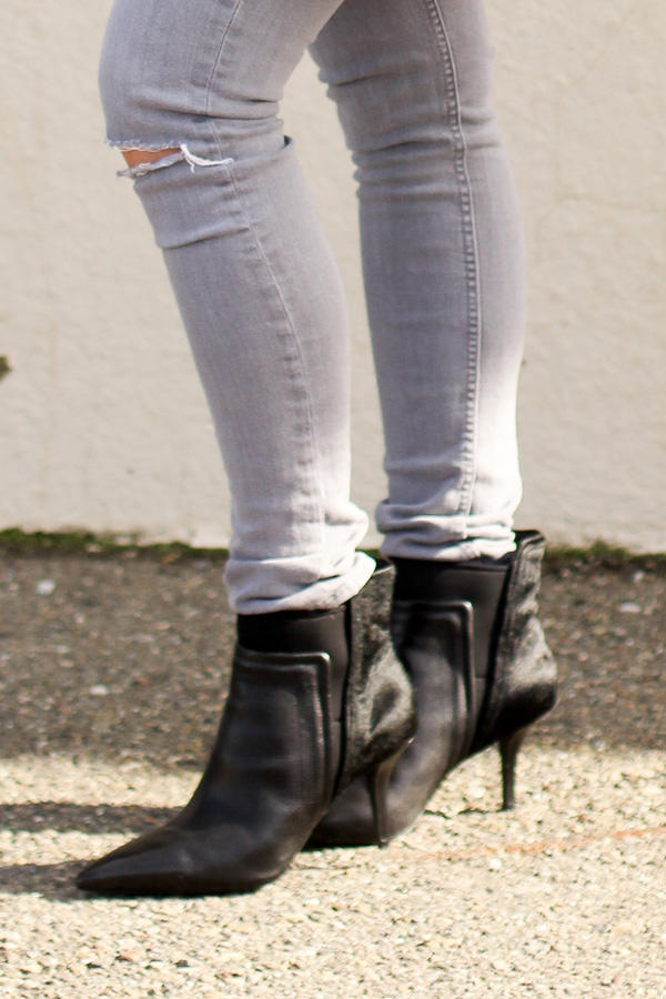 comfortable pointed toe booties