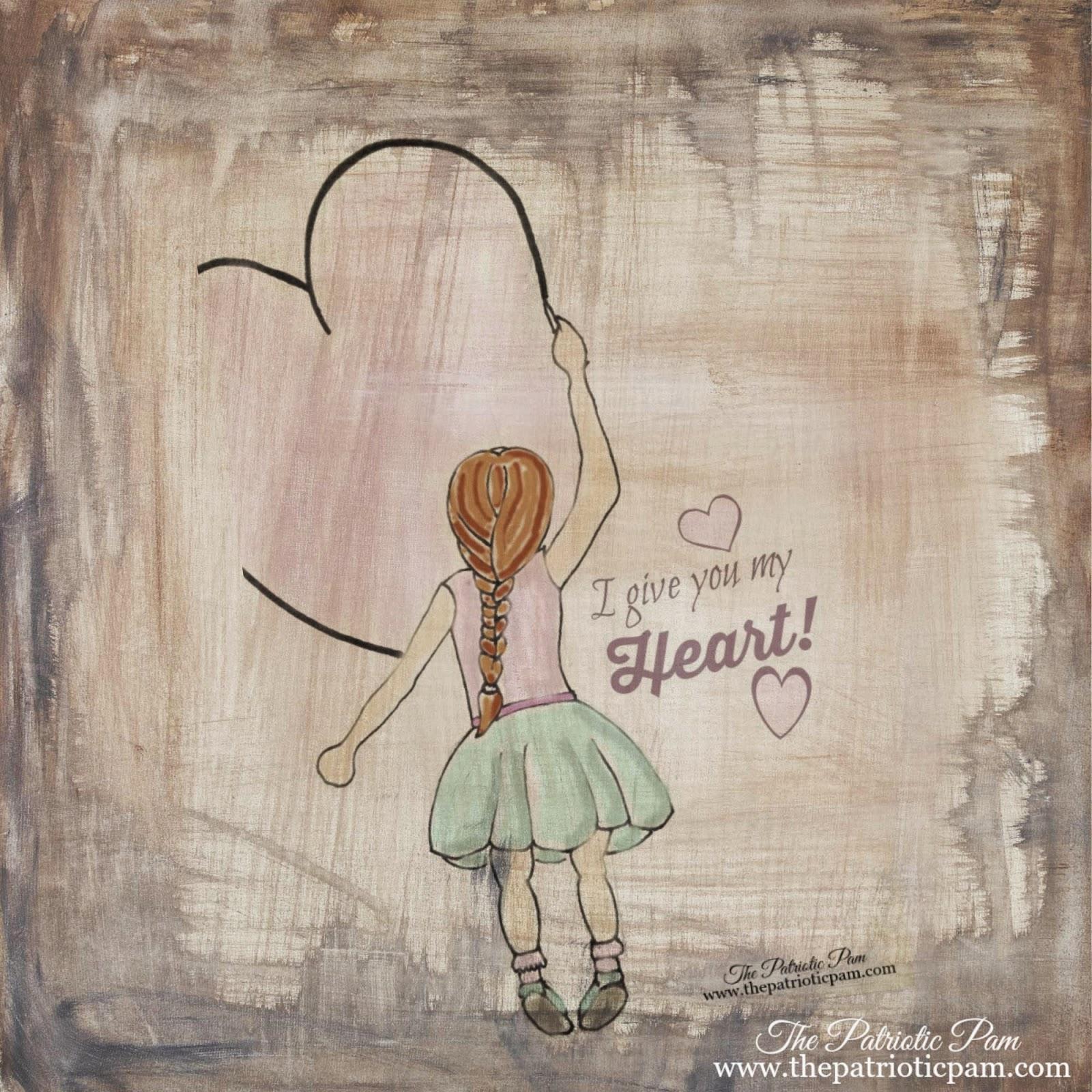 sketch, drawing, artwork, Valentines day, PicMonkey