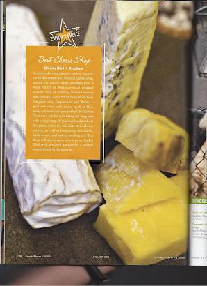 Best Cheese shop 2011