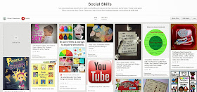 Social Skills Pinterest board